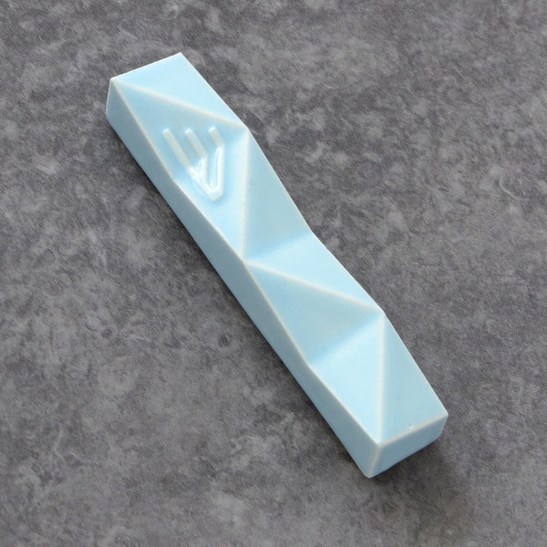 Mezuzah case - Light blue - Small size - for 2.7'' scroll