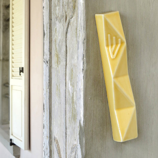 large mezuzah case - bystudio armadillo