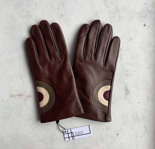 Frederick Sheppard Men's Brown Target Leather Gloves