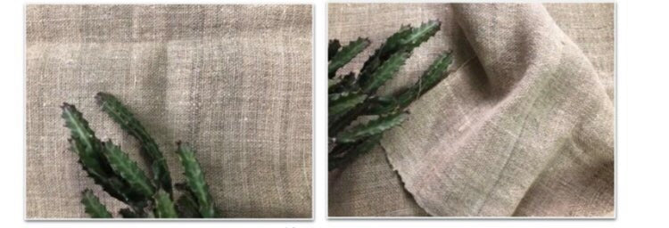 Hemp and bamboo fabrics