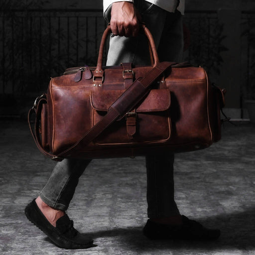 Bowie Leather Duffle Bag