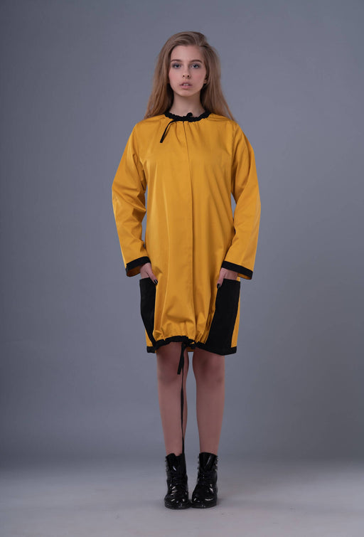 Anagenesis - Braille Dress Yellow