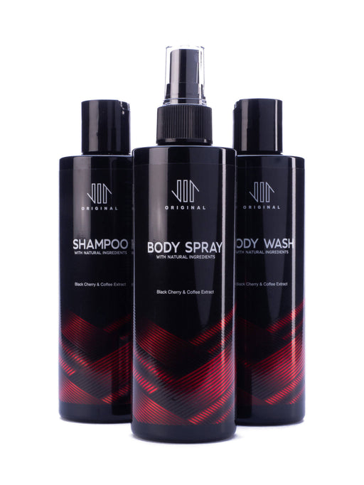 Vir Original Gift Set- Body Wash, Body Spray and Shampoo