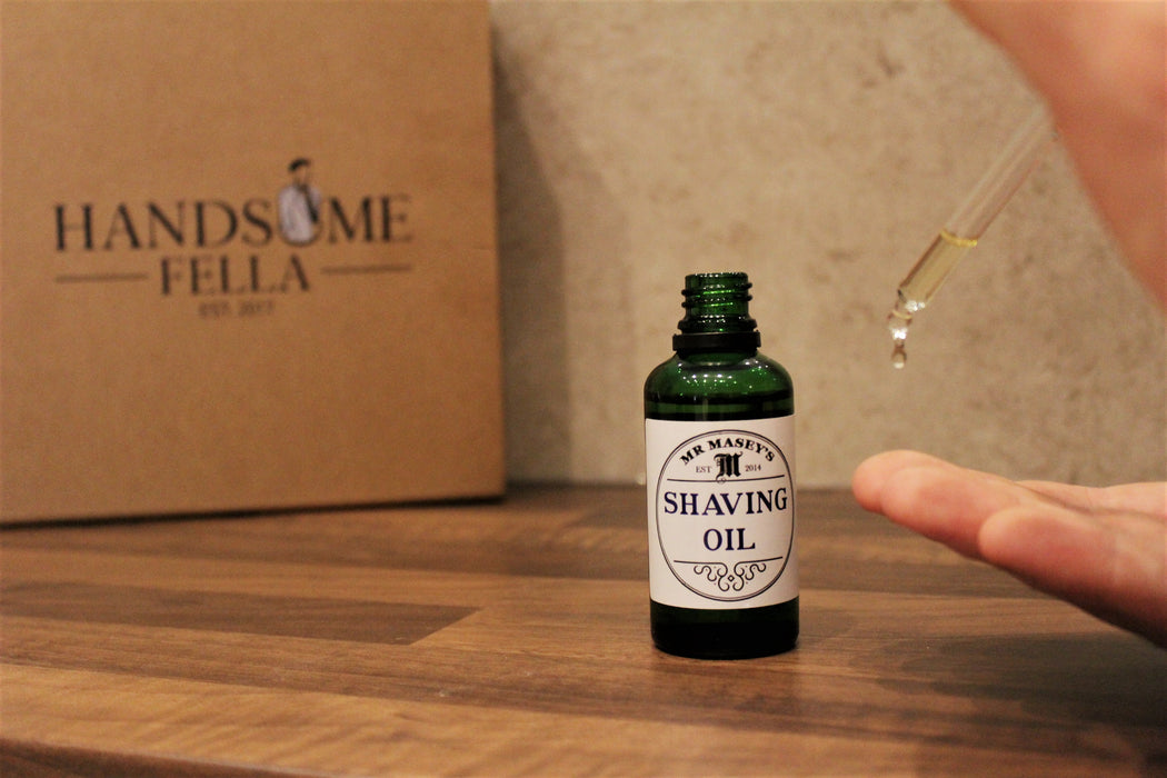 Mr Masey's Shaving Oil 50ml (HF)