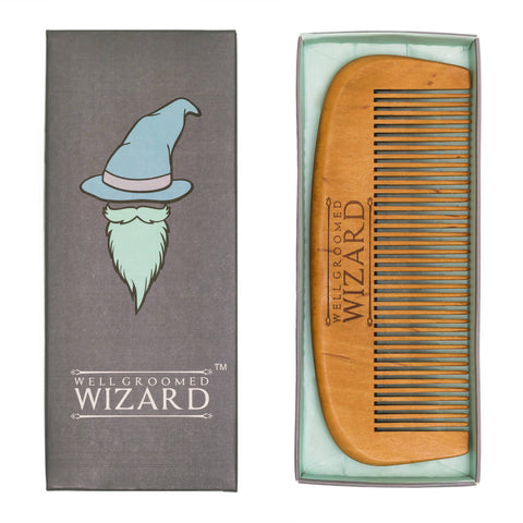 Well Groomed Wizard Classic Beard Comb
