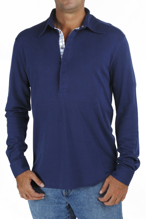 B.e Quality Men's LONG SLEEVE POLO shirt