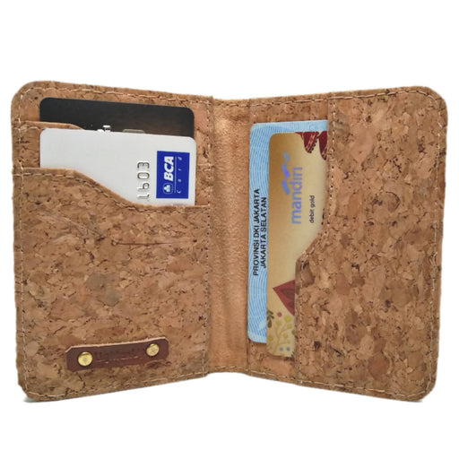 Abimanyu / credit card cork wallet