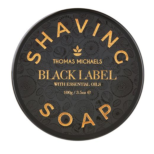Thomas Michaels Black Label Shaving Soap 100g (supplied by HF)