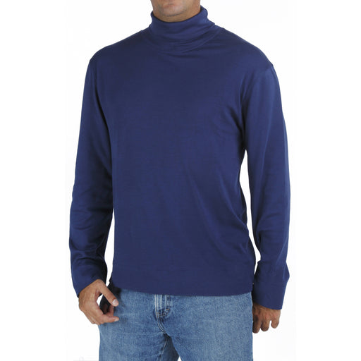B.e Quality Men's LONG SLEEVE TURTLE NECK T-SHIRT