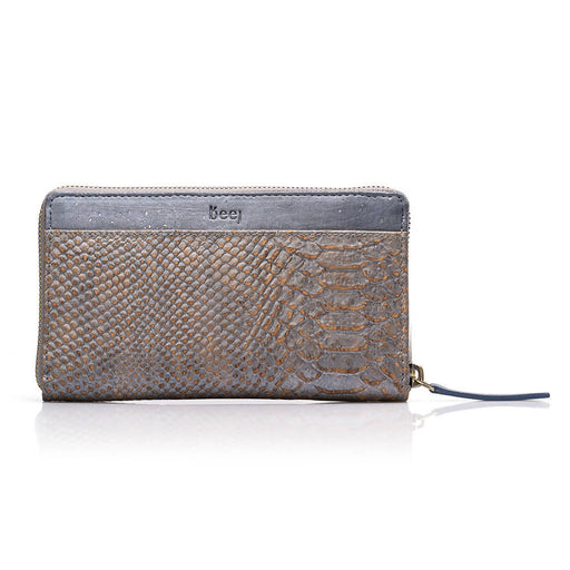 Taru Wallet - Alligator Blue