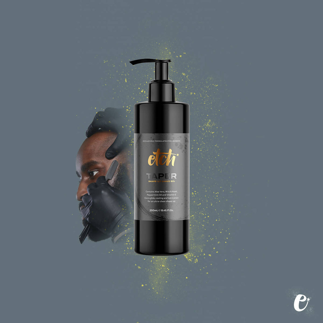 etch® TAPER Shape-up Shave Gel 250ml