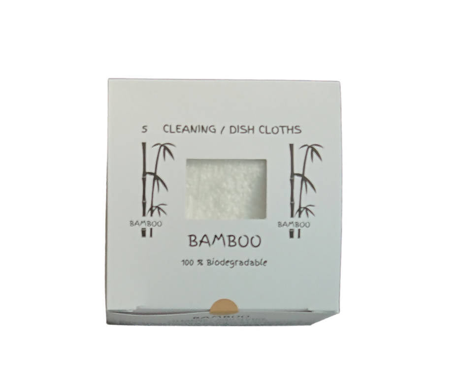 15 boxes of 5 Bamboo cleaning/dish cloths