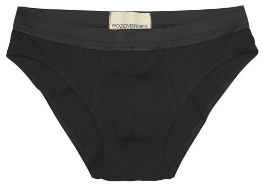 Black Organic Bamboo Briefs