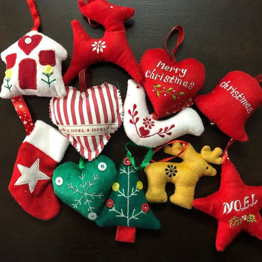 Christmas Ornaments set of 11