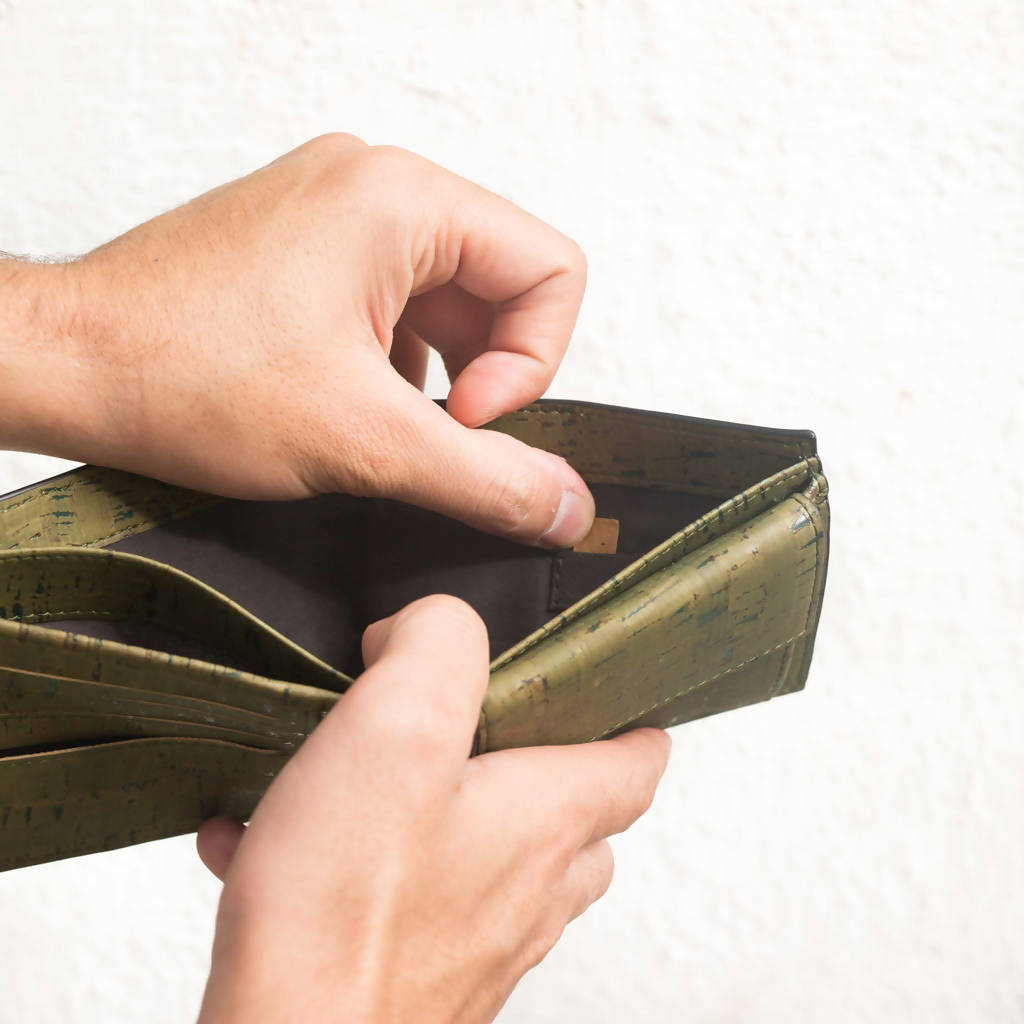 Olive Glen's Men's Coin Wallet