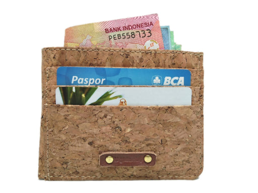 Credit card cork wallet
