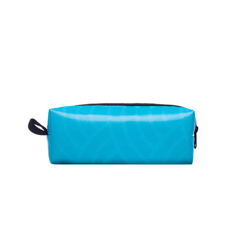 Biji Biji Gerbera Pouch Bag- Light Blue