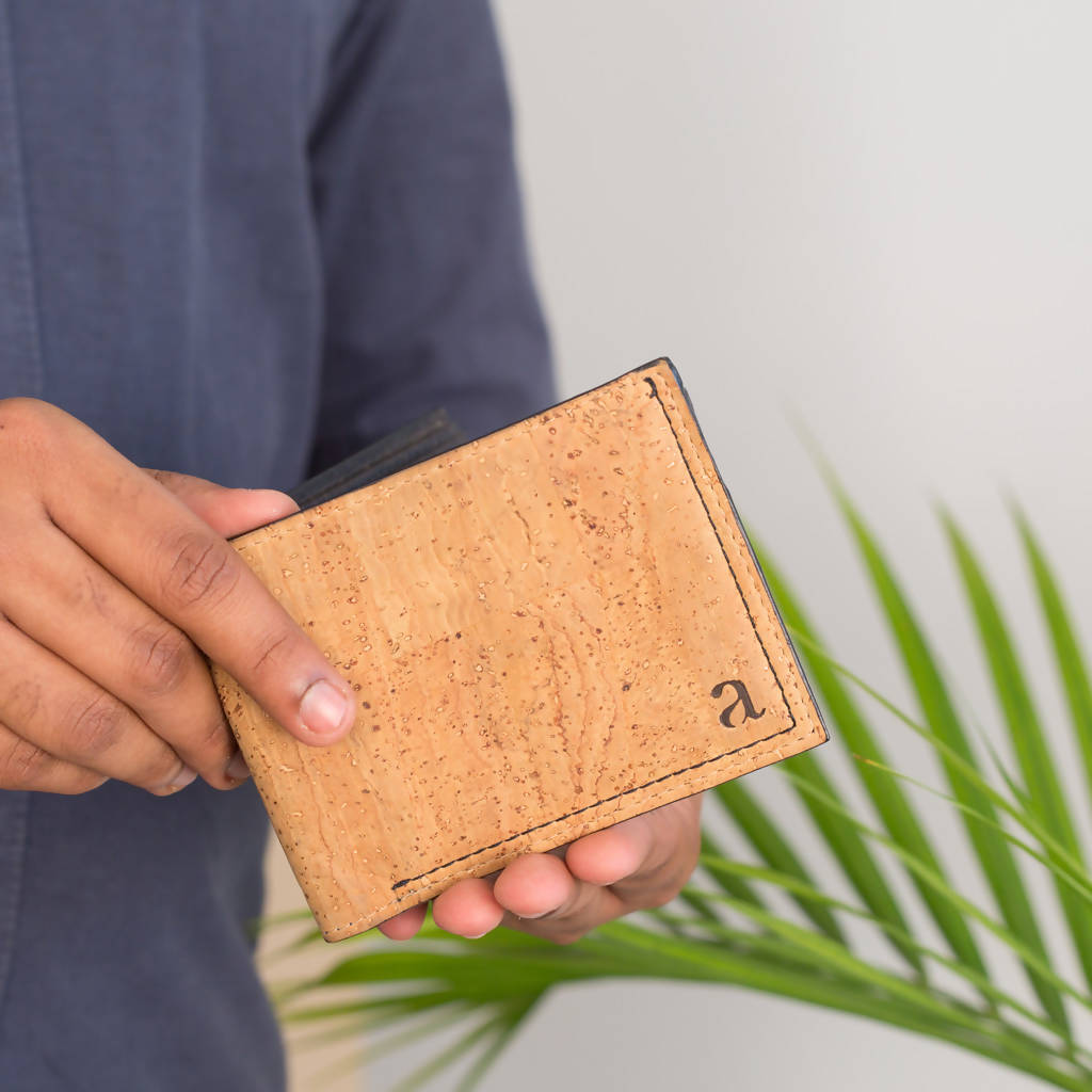 GALE MEN'S SLIMFOLD WALLET - NATURAL