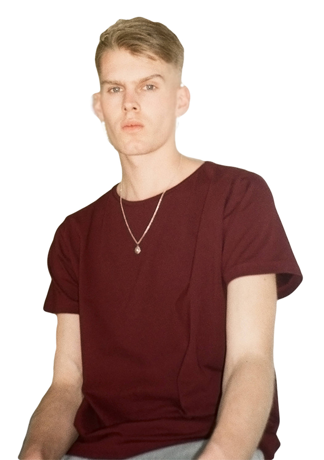 Organic Deep Red T-Shirt