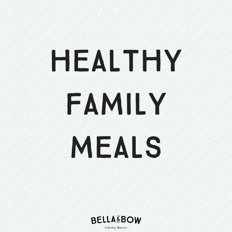 Websites for healthy family meals