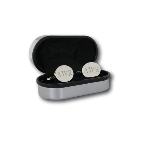 valentines gift ideas, monogram cufflinks