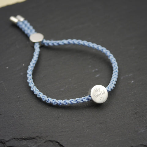 valentines gift ideas cord friendship bracelet