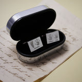 Rectangular Handprint Cufflinks - Four Children