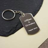 Personalised Keyring Gift Children's Drawing Doodle