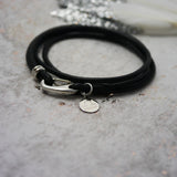 Zodiac Personalised Leather Charm Bracelet