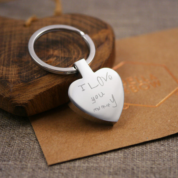 Handwriting keyring