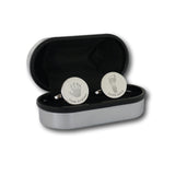 Round Engraved Handprint Cufflinks - One Child