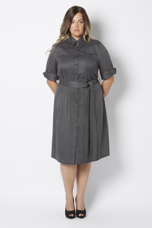 Cleo Shirt Dress - Alison Dominy