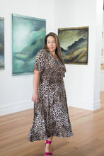 Load image into Gallery viewer, Hepburn Dress - Leopard