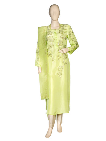 Green Kurta Set