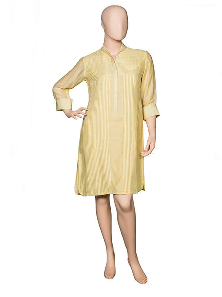 Butter Yellow Tunic