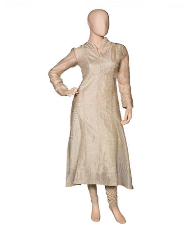 Gold Asymmetrical Kurta