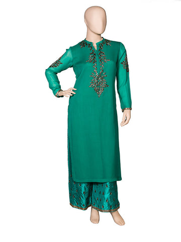 Green Tunic Set