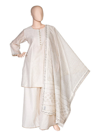 Off white Sharara Suit