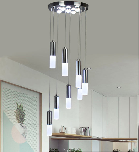 modern kitchen pendant lights 24w led pendant lights modern kitchen acrylic suspension 7732