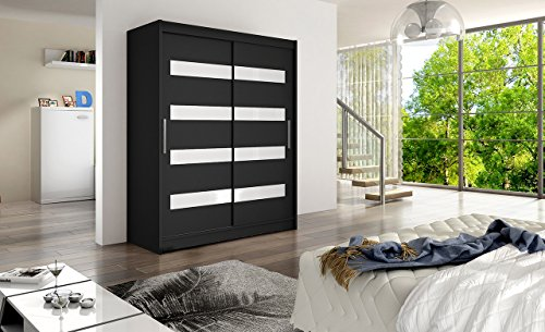 Ye Perfect Choice Brand New Modern Wardrobe Bedroom Coloured Glass 2