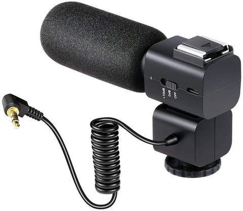 External On-Camera Professional Microphone