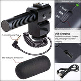 IR Flood Pro / External Mic with 4k Camcorder Package (2020)