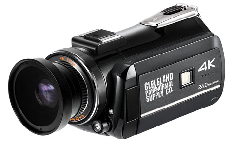 4K Ultra HD Infrared Nightvision / Full Spectrum Camcorder