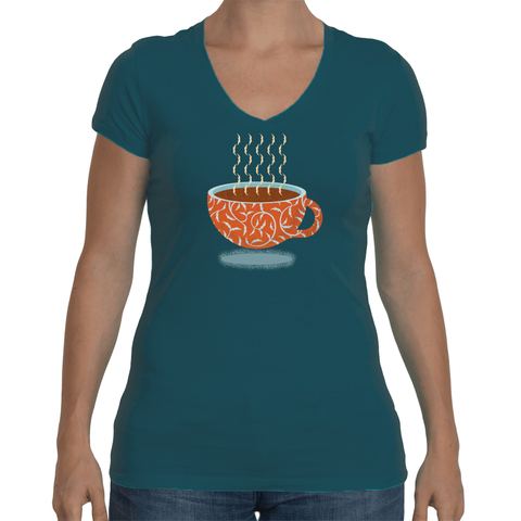 Jim Krause :: Women's Comfy V-neck Short Sleeve t-shirt