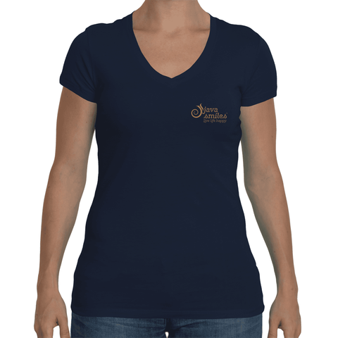 Women's Sporty V-neck Short Sleeve t-shirt