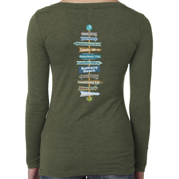 Women's Long Sleeve Scoop