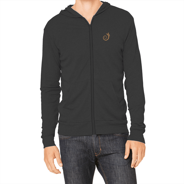 Jim Krause :: Unisex Sueded Full Zip Hoody