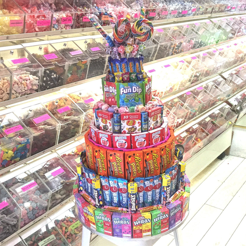 City Life is Sweet on our Candy Cakes