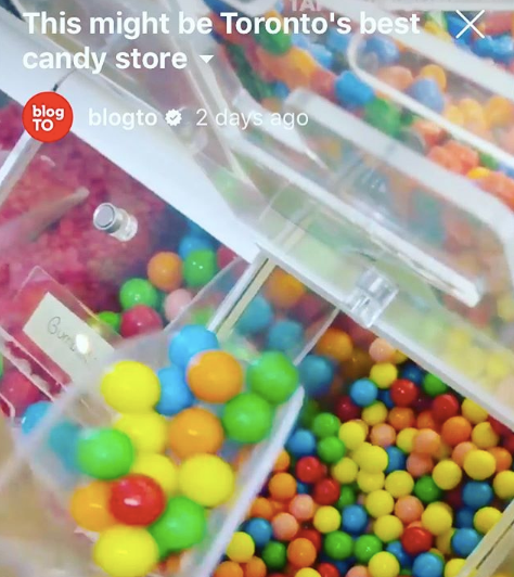 Thank you BlogTO - this video is sweet!!!🍭🍬🎉🌈