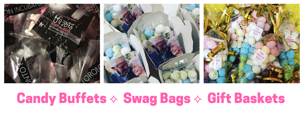 Candy Buffets ⟡  Swag Bags ⟡  Gift Baskets